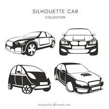 車のシルエット に関するベクター画像写真素材psdファイル 無料