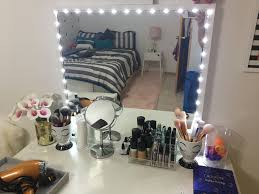 mirror lighting strips. DIY Lighted Vanity Mirror Using Ikea Stave And Lumienoodle Led Light Strip Lighting Strips