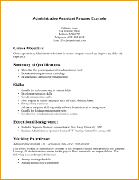 administrative assistant resume summary statement jumbocover info gallery of administrative assistant summary for resume