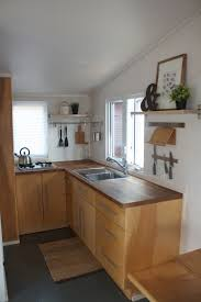 Micro Kitchen A 170 Square Feet Tiny House On Wheels In Lancaster Pa Designed