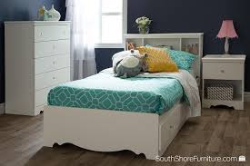 Now Pay Later Bedroom Furniture Amazoncom South Shore Crystal White Kids Twin Wood Captains