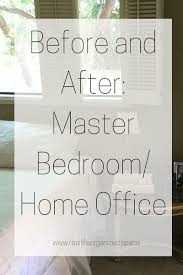 home office in master bedroom. Before And After: Master Bedroom/Home Office Home In Bedroom I