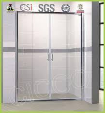 high quality hinge adjust glass shower door