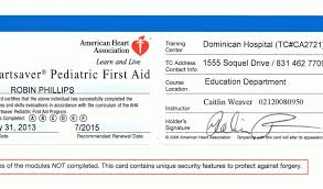 american heart ociation cpr card template cpr certification american heart ociation elegant first aid of american