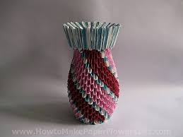 Paper Flower Base How To Make An Origami Vase For Paper Flowers How To Make Paper