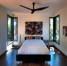 cool ceiling fans ideas. Awesome Design Of The Black Wooden Floor Ideas With White Wall And Contemporary Ceiling Fans Cool