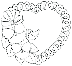 Printable Coloring Pages Of Flowers And Butterflies Printable Coloring Pages For Flowers