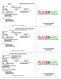 To register motor vehicles with four or more wheels, they must be insured by a company licensed by the florida department of insurance. Insurance Card Template Fill Out And Sign Printable Pdf Template Signnow
