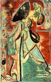 the moon woman painting jackson pollock the moon woman art painting