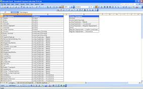 how to create expense reports in excel quarterly report sheet how to make an excel for expenses createeet