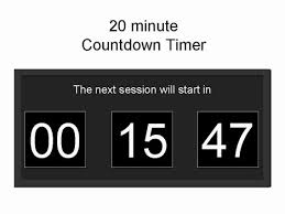 Countdown Clock For Powerpoint Presentation Free Powerpoint Countdown Timer Template