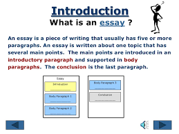 the essay writing process parts of an essay conclusionintroduction body paragraphs 7 introduction what is