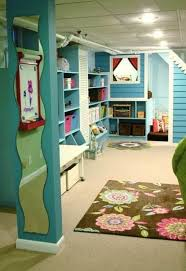 cool basement for kids. Plain Kids Decorations Affordable Yellow Playing Kids Racks In Wall Above Wooden Long  Desk Around Under Large Soft Carpet To Close The Floor For Cool Plu2026  Basement S