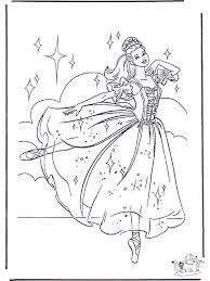 Prinses Ballet Sprookjes Kleurplaten