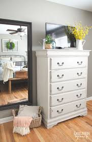cottage style bedroom furniture. cottage bedroom diy painted furniture makeover maison blanche dresser in cobblestone with chalk style i