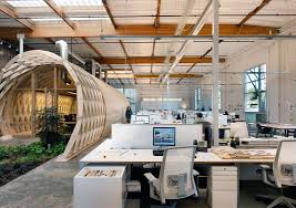 contemporary office spaces. contemporary office space california blends creativity indoor spaces