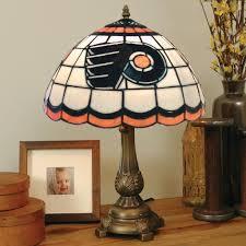 Philadelphia Flyers Bedroom Tiffany Style Philadelphia Flyers Lamp Free Shipping Today