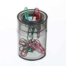 Magnetic Paperclip Holder High Quality Magnetic Paper Clip Tidy Paper Clip Holder Dispenser