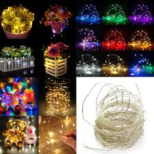Usb Fairy Lights Details About Led String Copper Wire Fairy Lights Battery Usb 12v Xmas Party Fairy Decor Lamp