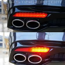 Kia Stinger Sequential Lights Kia Stinger Sequential Led Bumper Reflector Lights