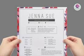 Pretty Resume Template Inspiration Pretty Cv Template Optional Though Creative Markposts