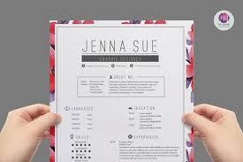 Pretty Resume Template Inspiration Pretty cv template optional though creative markposts
