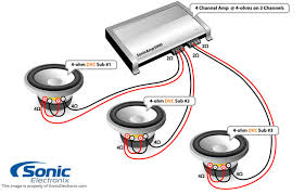 sub wiring diagrams sub image wiring diagram subwoofer wiring diagram 4 ohm subwoofer image on sub wiring diagrams
