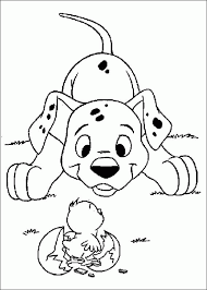 Small Picture 101 dalmatians dalmations colouring pages Clipart Miscellaneous