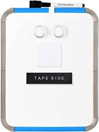Amazon.com : <b>Deli</b> Small Magnetic <b>Dry Erase Board</b>, 8.5 x 11 Inches ...
