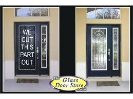 exterior doors with glass door inserts canada