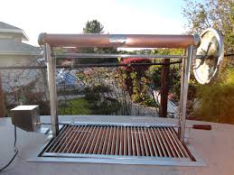 Steel Frame Outdoor Kitchen Custom Santa Maria Bbq W Stainless Steel Frame And Copper Has