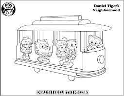 Daniel Tiger Coloring Pages Tiger Coloring Tiger Coloring Page Bible