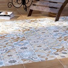 carmona porcelain patterned floor tiles 300 x 300mm