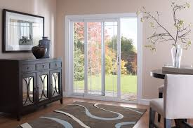 contemporary patio door slider