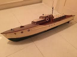 model wooden boat for