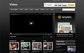 website template video 5 amazingly free video wordpress themes web graphic design