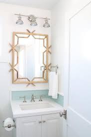 wooden bamboo bathroom mirror design ideas