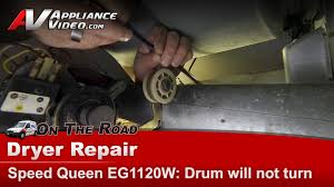 speed queen coin operated dryer repair drum not turning belt speed queen coin operated dryer repair drum not turning belt issue eg1120w