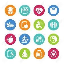 Health And Fitness Set 16 Health And Fitness Icons
