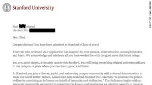 student gets into stanford after writing blacklivesmatter on  ahmed 39 s acceptance