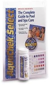Aquachek Select Color Chart Aquachek Select 7 In 1 Pool And Spa Test Strips Complete Kit