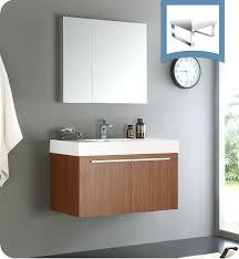 Modern Bathroom Vanity Lighting Best Modern Medicine Cabinets Vista Teak Bathroom Vanity With Cabinet