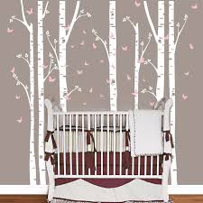 huge removable birch tree butterfly vinyl wall art decals large wall stickers baby nursery bedroom decoration on vinyl wall art decals trees with aliexpress buy huge removable birch tree butterfly vinyl wall