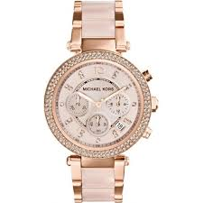 michael kors watches for from tic watches uk ladies and mens mk5896 ladies chronograph rose gold tone watch in stock · michael kors