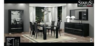 italian lacquer dining room furniture diamond black lacquered modern dining room set italian black lacquer dining room table