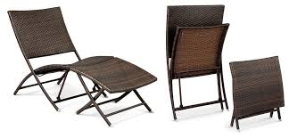 folding chairs are a great choice for small deck furniture because you can use just the pieces you want and set extras aside so they don t take up too much