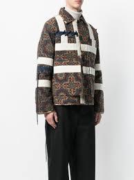 Craig Green Tile-print Quilted Jacket $1,015 - Buy Online AW17 ... & ... Craig Green tile-print quilted jacket Adamdwight.com