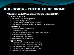 Biological Theory Trait Theory