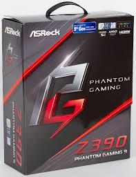 Обзор <b>материнской платы ASRock Z390</b> Phantom Gaming 9 на ...