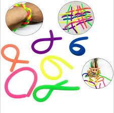 Decompression <b>Soft Glue TPR</b> Noodle Rope Vent Rope Toy DIY ...